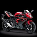 Kawasaki Ninja 250SL red front three quarter single