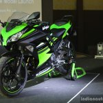 Kawasaki Ninja 300 front three quarter at India launch