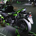 Kawasaki Ninja 650 rear three quarter at India launch