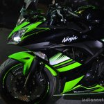 Kawasaki Ninja 650 side fairing at India launch