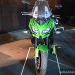 Kawasaki Versys 650 front at India launch