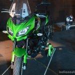 Kawasaki Versys 650 front nose at India launch