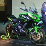 Kawasaki Versys 650 front three quarter India launch