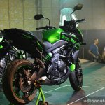 Kawasaki Versys 650 rear three quarter India launch