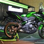 Kawasaki Versys 650 side India launch