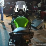 Kawasaki Versys 650 tank view India launch