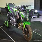 Kawasaki Z650 front three quarter right at India launch