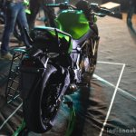 Kawasaki Z650 rear three quarter at India launch