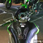 Kawasaki Z900 instrumentation at India launch