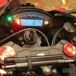 Kawasaki ZX10RR India launch instrumentation