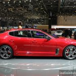 Kia Stinger side at the 2017 Geneva Motor Show