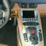 Lamborghini Aventador S LP740-4 center console launched