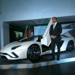 Lamborghini Aventador S LP740-4 front quarter launched