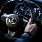 Lexus ES 300h steering wheel