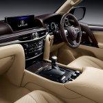 Lexus LX 450d dashboard