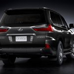 Lexus LX 450d rear three quarters