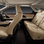 Lexus RX 450h cabin