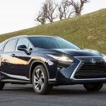 Lexus RX 450h front three quarters
