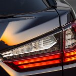 Lexus RX 450h tail lamp