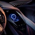 Lexus UX Concept centre console