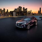Lexus UX Concept front three quarters