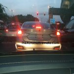 MY2017 Maruti Ciaz badges spotted at a NEXA outlet