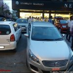 MY2017 Maruti Ciaz front spotted at a NEXA outlet
