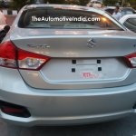 MY2017 Maruti Ciaz rear spotted at a NEXA outlet