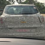 Mahindra S201 compact SUV spotted testing in Chennai