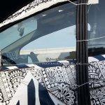 Mahindra U321 MPV (Toyota Innova rival) window spied on test