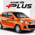 Maruti Alto K10 Plus front three quarters