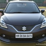 Maruti Baleno RS front First Drive Review