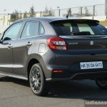 Maruti Baleno RS rear three quarter left First Drive Review