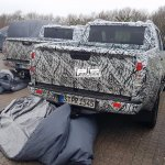 Mercedes X-Class spy shot Denmark