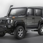 New Force Gurkha 3-door front three quarter press image