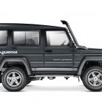 New Force Gurkha 3-door profile press image