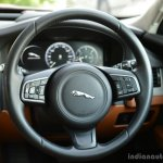 New Jaguar XF 2.0 Diesel Portfolio steering wheel Review