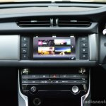 New Jaguar XF 2.0 Diesel Pure center console Review