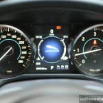 New Jaguar XF 2.0 Diesel Pure instrument cluster Review