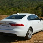 New Jaguar XF 2.0 Diesel Pure rear three quarter Review