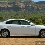 New Jaguar XF 2.0 Diesel Pure side Review