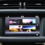 New Jaguar XF 2.0 Diesel Pure touchscreen system Review