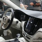 New Volvo XC60 interior at the Geneva Motor Show Live