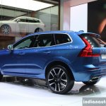 New Volvo XC60 rear quarter left at the Geneva Motor Show Live