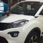 Production Tata Nexon spy shot