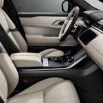 Range Rover Velar front seats