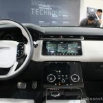 Range Rover Velar interior at the Geneva Motor Show