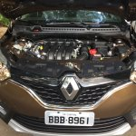 Renault Captur (Renault Kaptur) engine bay
