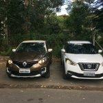 Renault Captur (Renault Kaptur) vs Nissan Kicks front