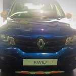 Renault Kwid Climber front